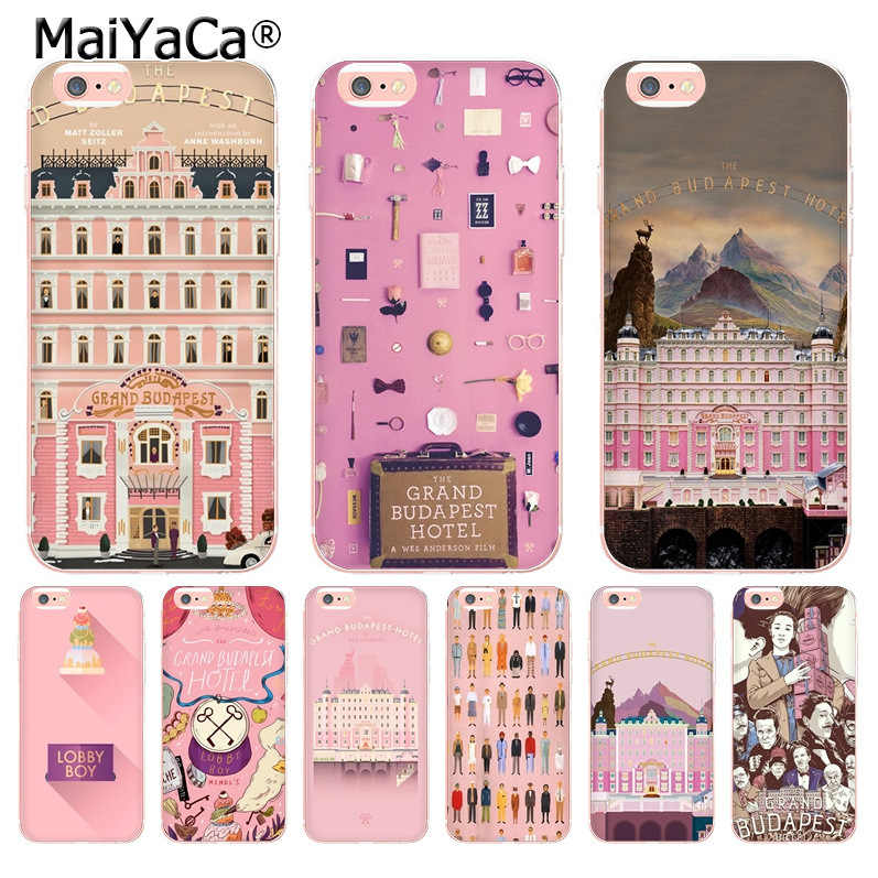 MaiYaCa Wes Grand Budapest Hotel design Coque Shell Telefoon Case voor iphone 11 Pro 8 7 6 6S Plus X 10 5 5S SE XS XR XSMAX