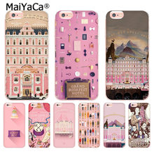 MaiYaCa Wes Grand Budapest Hotel thiết kế Coque Vỏ Ốp Lưng điện thoại Iphone 11 PRO 8 7 6 6S 6S Plus X 10 5 5S SE XS XR XSMAX(China)