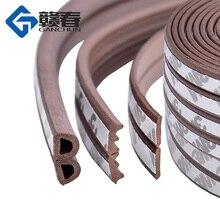 10 м тип DIEP самоклеющиеся дверные уплотняющие полоски самоклеющиеся окна пена ветер водонепроницаемый пылезащитный звук теплоизоляционные инструменты