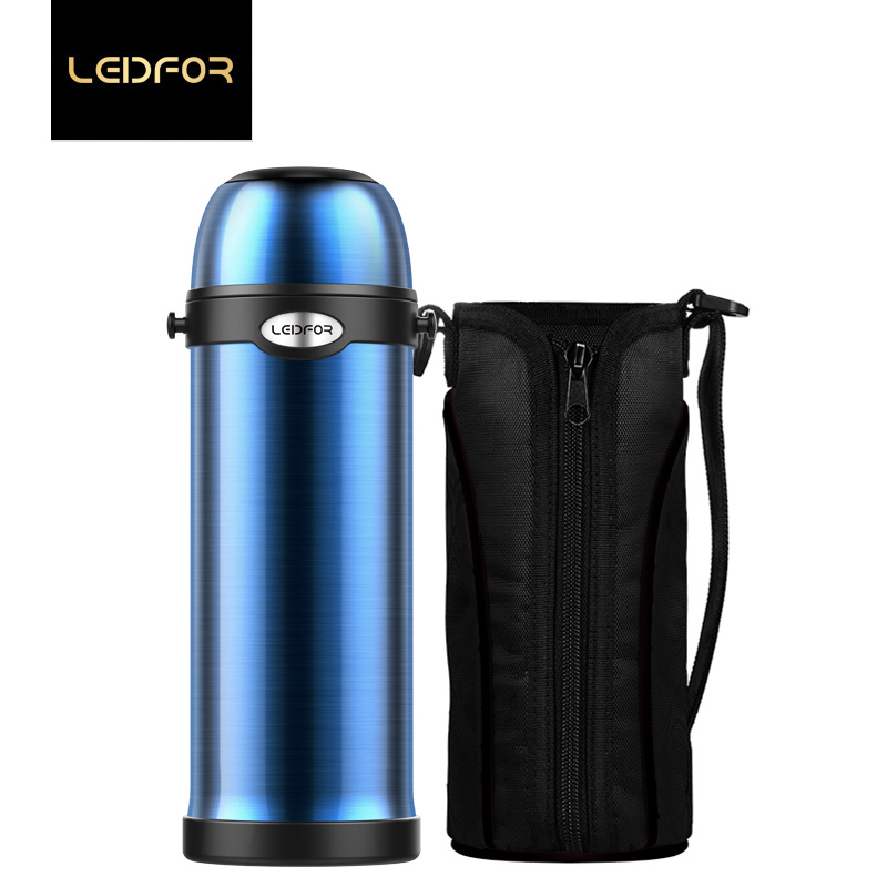 Thermos Thermal Bottle Travel Cup Portable Sport Double Stainless Steel bottle For Water 1000ml Big Size Outdoor Vacuum Flasks