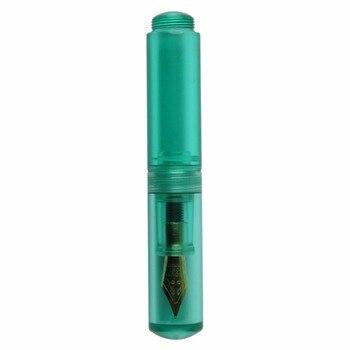 Przenośny Mini Fontanna Pióra Krótkie Przezroczysty Tusz Sac 0.55mm Dzieła Stalówka Pióro 4 Kolory Dla Wybierz Wielki Dla pisanie Mayitr