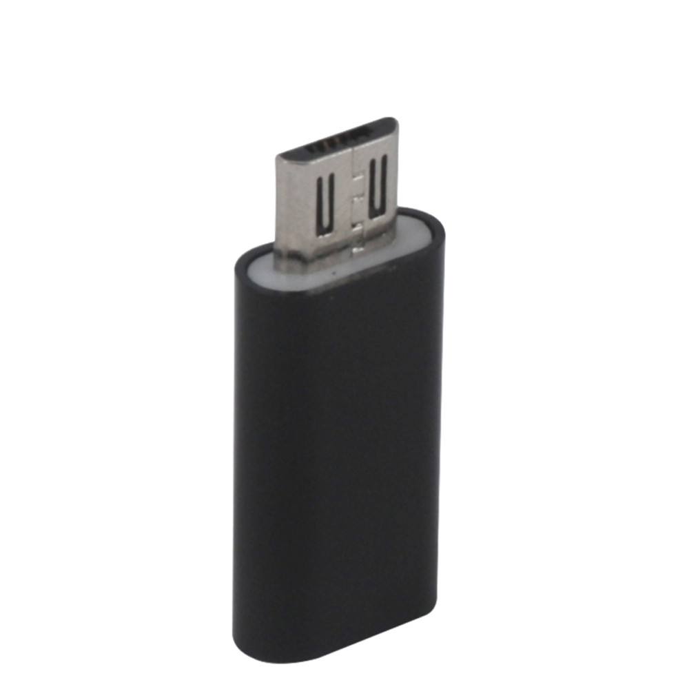Type-C Female To Micro USB Male Adapter Converter For Phones Convenience 17Aug28 best price portable usb 2 0 type a male to usb type b female plug extend printer adapter converter new arrival for