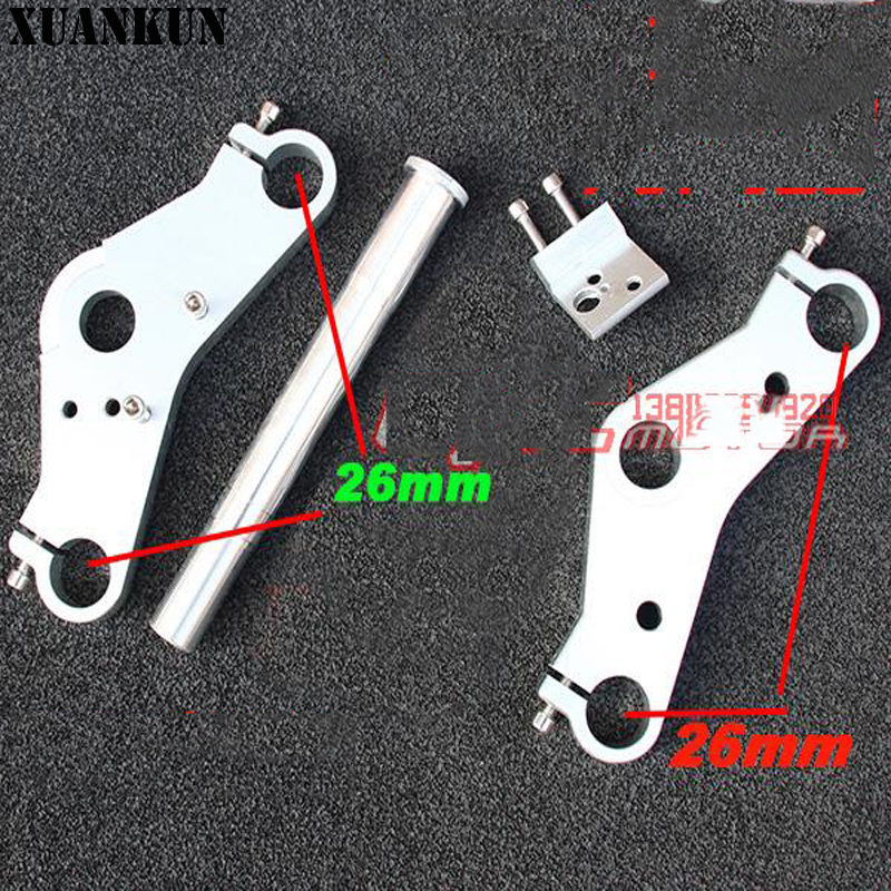 XUANKUN Monkey Small Monkey Motorcycle Direction Changer Cnc Direction Device 26mm Up And Down With Board