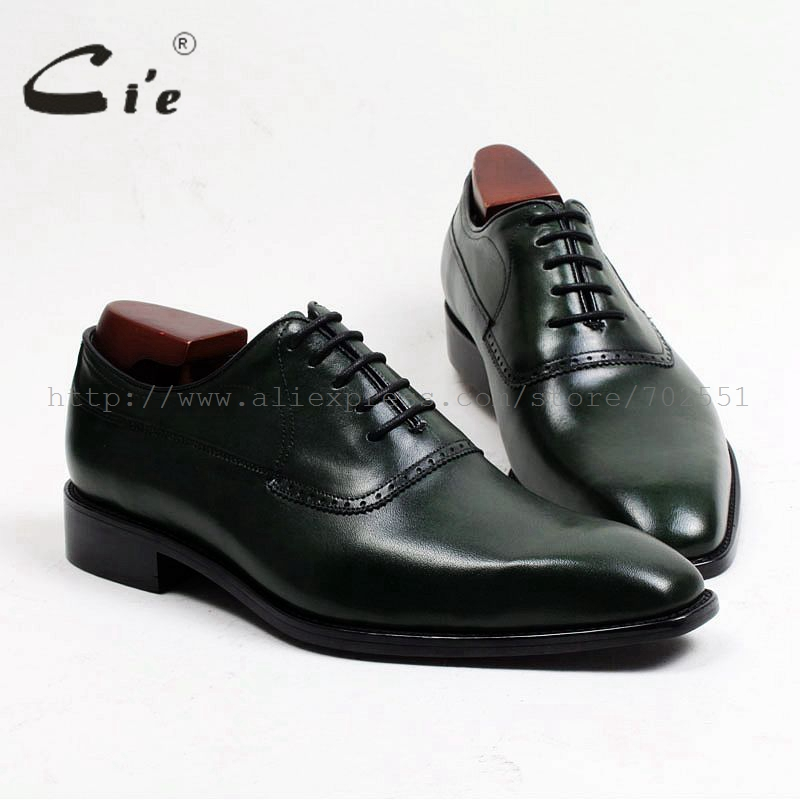 cie Free shipping adhesive bespoke handmade calf leather upper outsole men's dress oxford color brown shoe No.OX466 hand colored cie free shipping handmade tassels buckle loafer brown white matching calf leather bottom outsole men shoe 3 crafts loafer66