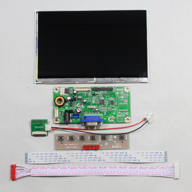 VGA LCD controller board M.RT2270.1C kit with 7inch HSD070PWW1-C00 1280x800 Lcd screen panel