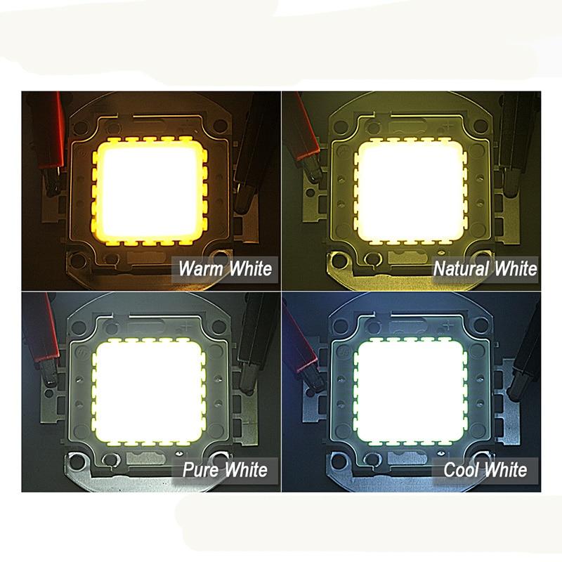 Купить с кэшбэком High Power Integrated Light Bulb Beads 1W 3W 5W 10W 20W 30W 50W 100W Warm White 3000-3500K White 6000-6500K  Led Chips