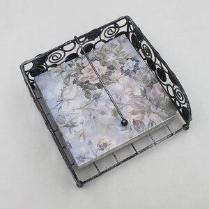 Image 2 - [RainLoong] drukowane serwetki z róży do papieru na imprezę i imprezę bibuła ozdobna Decoupage 33cm * 33cm 5 paczek (20 sztuk/paczka)
