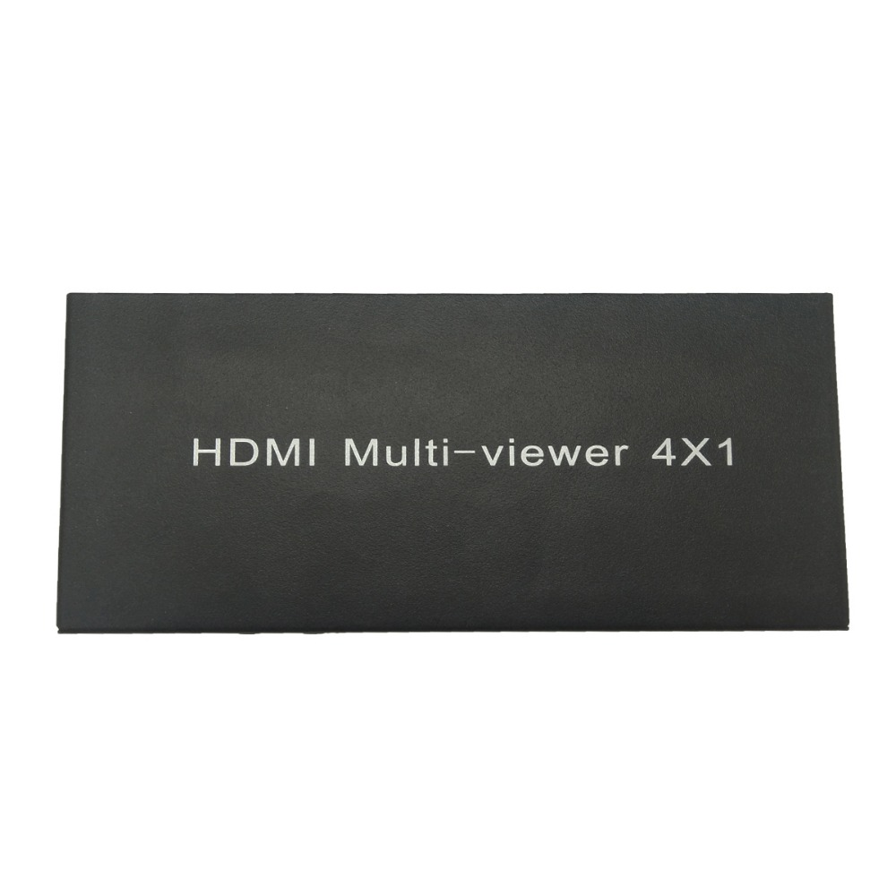 4X1 HDMI Multi-viewer HDMI Quad Screen Real Time Multiviewer with HDMI seamless Switcher function full 1080P&3D цена