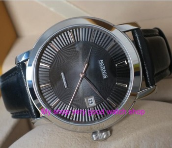 41mm Parnis Sapphire Crystal Japanese 21 jewels Automatic Self-Wind Movement Mechanical watches 5Bar Men's watches tl10