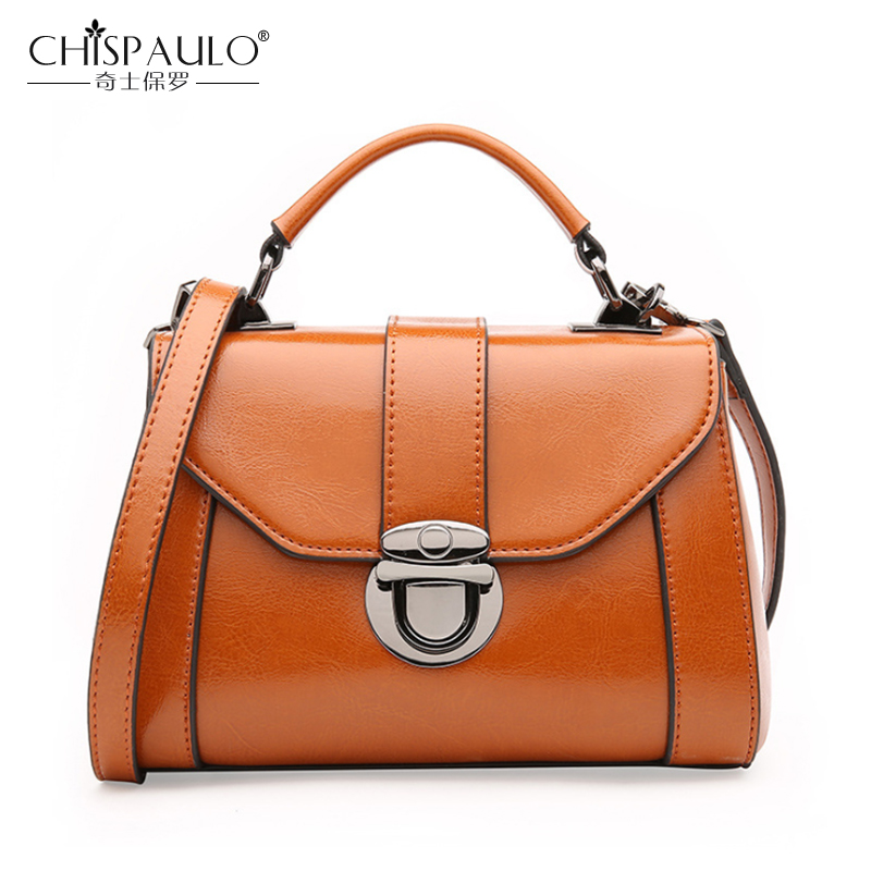 Fashion Genuine Leather Women Bags Classic Lock Ladies Handbags High Quality Natural Leather Shoulder Bag Female Casual Tote 247 classic leather