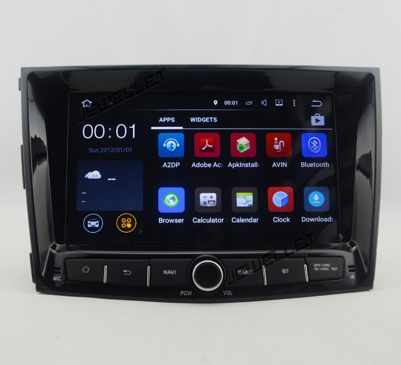 Octa core IPS screen Android 9.0 Car GPS radio Navigation for <font><b>Ssangyong</b></font> <font><b>Tivoli</b></font> LUVi 2015-2016 with 4G/Wifi DVR mirror link image