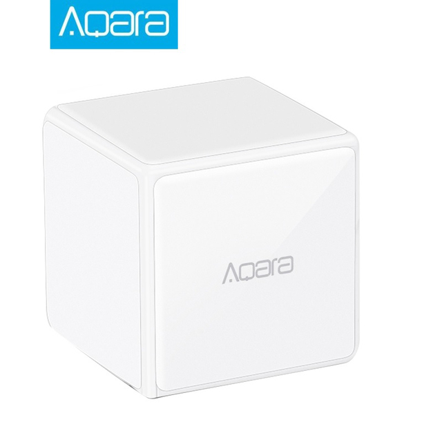 Aqara Mi Magic Cubes Controller Zigbee Version Support Upgrade Gateway  Smart Home For Xiaomi Mijia Wireless MiHome APP Control