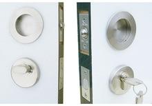 Дверной Фурнитуры Из Нержавеющей Стали Темно-Пряжка Невидимый Безопасности Дверные Замки lockset