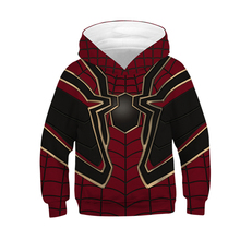 Fans Made Unisex Hoodie Iron Spiderman 3D Printed Long Sleeve Baby Casual Tops Childrens Deadpool Pullover