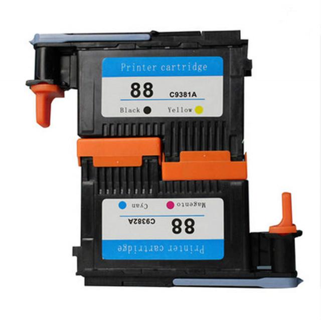 Cabeça de impressão para HP 88 C9381A C9382A cabeça de impressão para HP K550 K8600 L7480 L7550 L7555 L7580 L7590 L7650 L7680 L7681 L7780 de impressora