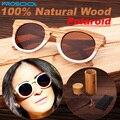Artesanal Natural Original polarizados óculos de sol UV mulheres óculos de sol óculos de madeira de madeira madeiras quadro braço com caso caixa de bambu 2015