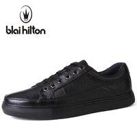 Blaibilton Marka Hakiki Deri erkek rahat ayakkabılar Lüks Düz Moda Tasarımcısı Nefes Erkek Ayakkabı Casual Erkek Ayakkabı SDQ008
