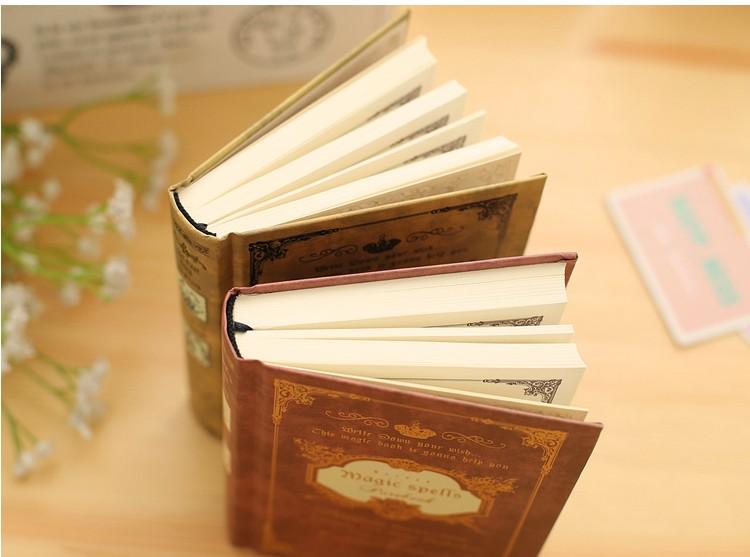 Vintage Journal Reisenden Notebook 64 Karat Hardcover Tagebuch Magie Shell Tasche Buch Planer Notizblock Notebooks Office & School Supplies