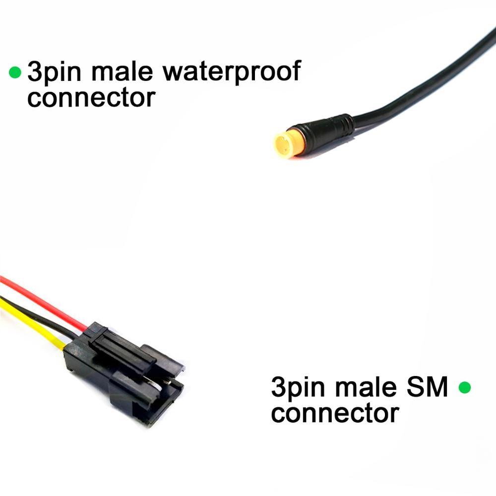 1*E-bike Electric Bike Right Hand FT-21X Thumb Throttle SM//Waterproof Connector.