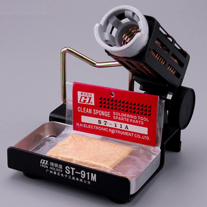 Image 4 - ST 91V de ST 90 ST 91M soporte de soldador, Base de Metal, soporte de hierro, 1 ud.