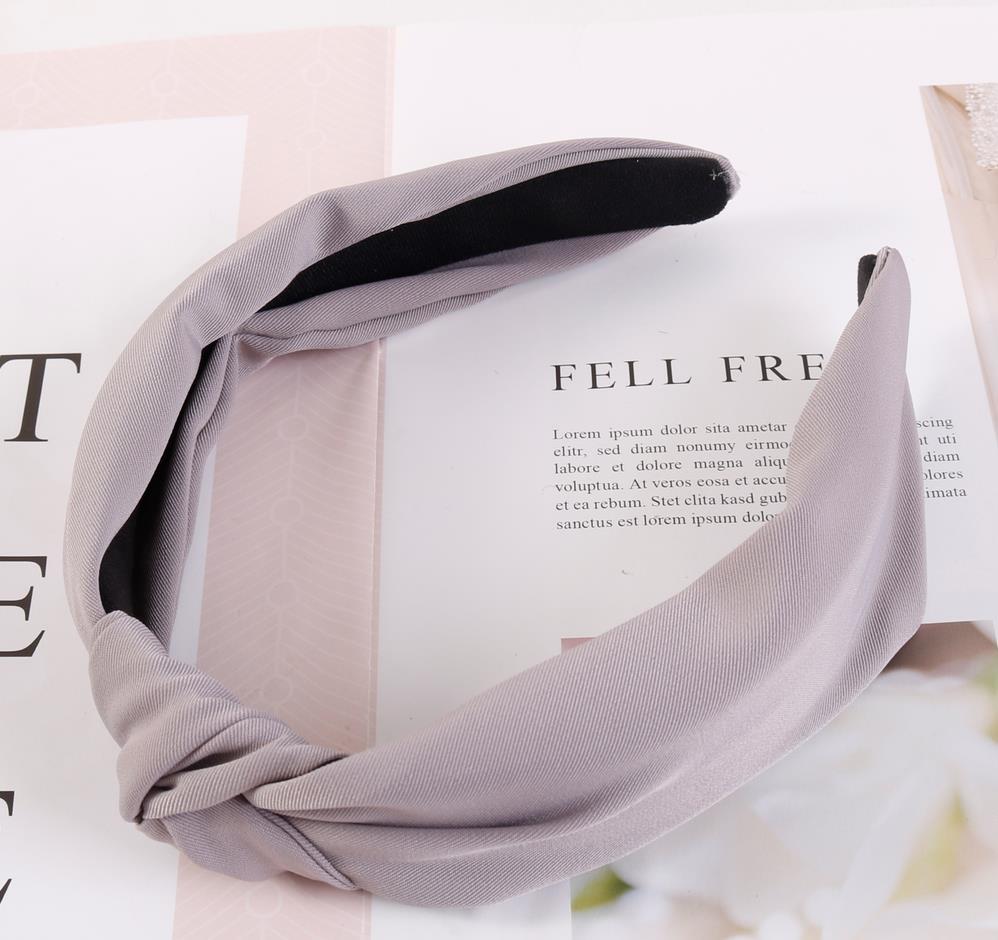 gray hairband