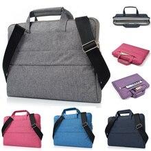 Laptop Bag 11 13 13.3 15 15.4 Inch Waterproof Notebook Case for Apple Mac Macbook Air Pro Laptop Shoulder Handbag Briefcase Men