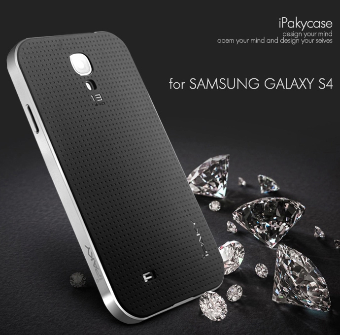High quality ipaky brand case for Samsung galaxy S4 silicone protective shell for galxy S4 all