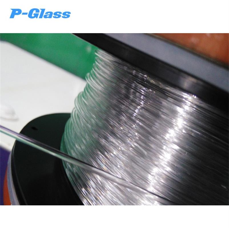 Glass Fiber 1.75mm 3mm High Transparency P Glass Filament