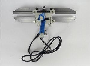 Image 2 - FKR 400 Dubbele Heatting Sealer, Baterpak Thee Papier Folie Film Zak Plastic Lassers, Band Sealer, kraftpapier Zak Warmte Sealer