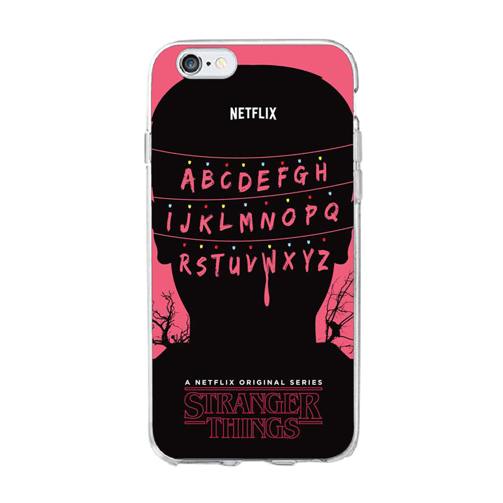 Us 127 34 Offus Drama Tv Stranger Things Abc Logo Wallpaper Phone Case For Iphone 6s 7 8 Plus 4s 5 5s Se X Soft Tpu Cover For Iphone 7 Case In