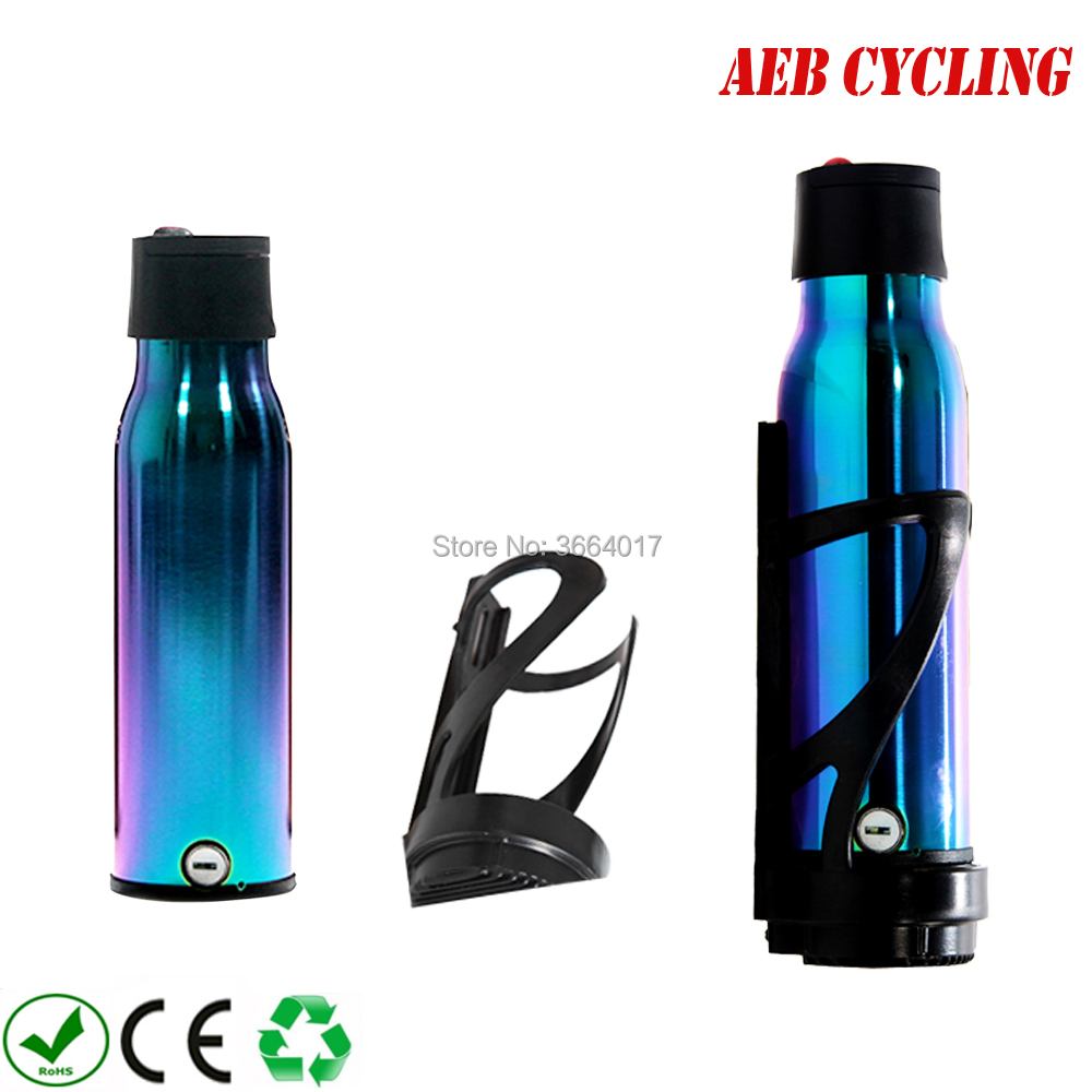 EU US Free shipping <font><b>36V</b></font> <font><b>5Ah</b></font> Stealth Water Bottle <font><b>Battery</b></font> smart portable light weight water glass type <font><b>battery</b></font> pack for road bike image