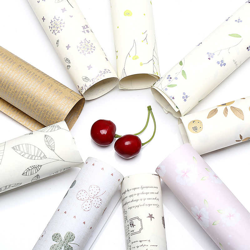 10 sheets rolled wrapping paper