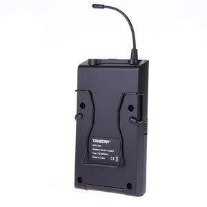 Image 5 - Takstar WPM 200/WPM 200R système de surveillance sans fil UHF 50m Distance de Transmission dans loreille casque stéréo émetteur récepteur
