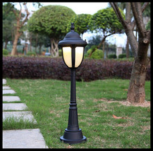Европа Америка Стиль водонепроницаемый открытый двор газон лампа свет пейзаж Вилла уличный свет утолщенной Сад светильник
