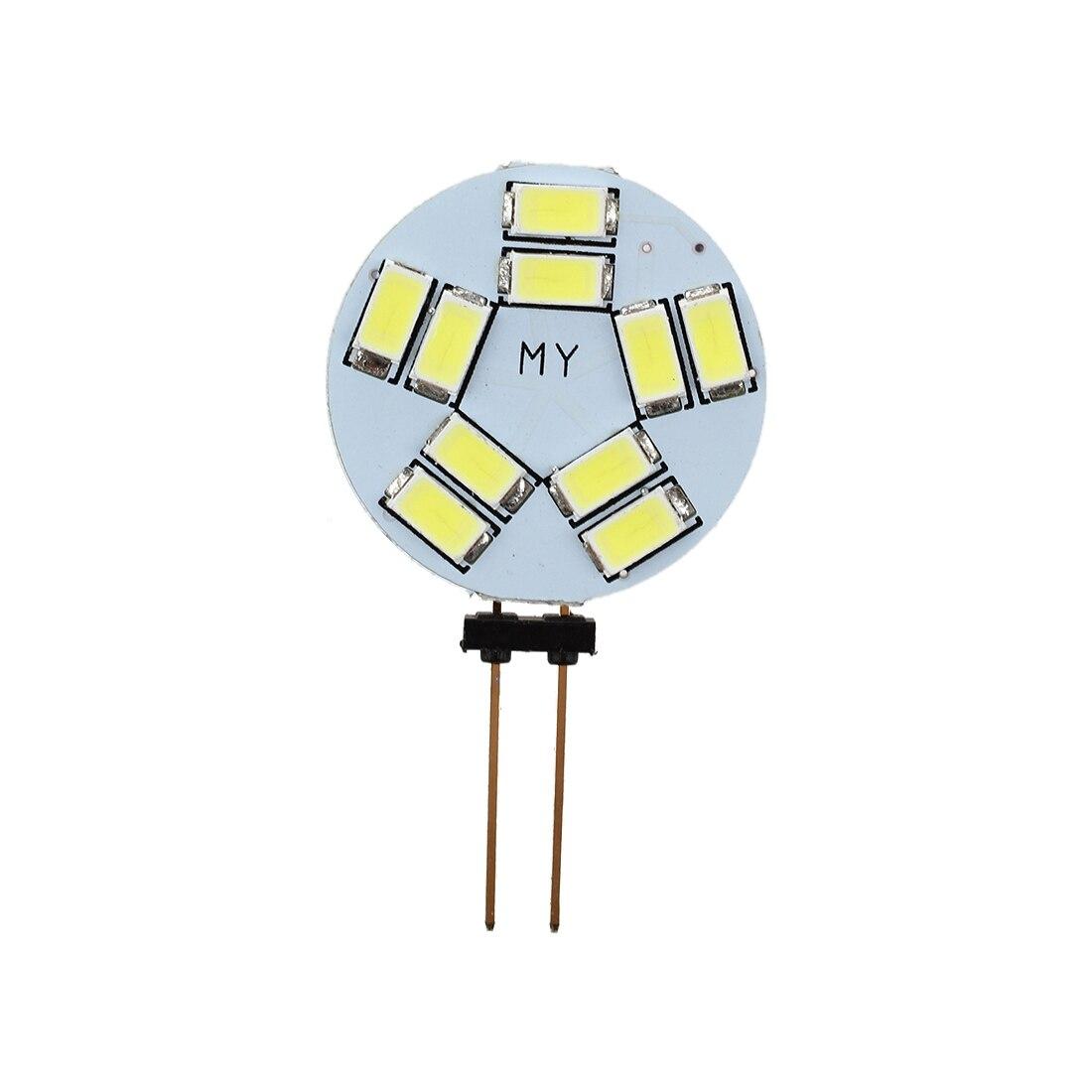 TOYL G4 10 5630SMD LED Cabinet Light Home Car Marine Boat Lamp Bulb 12V (White)