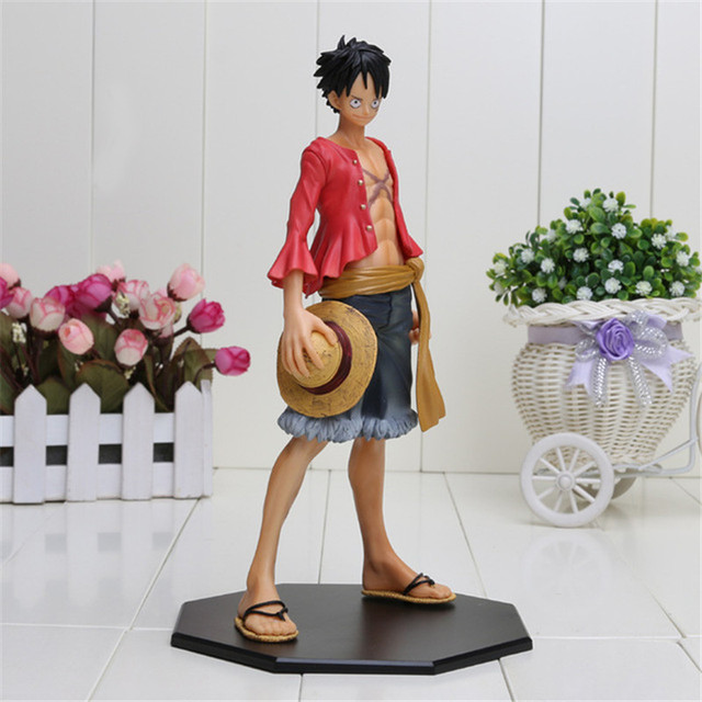 One Piece Action Monkey D Luffy Figure PVC Toy