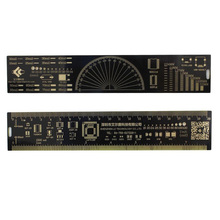 20cm Multifunctional PCB Ruler EDA Measuring Tool Chip IC Electronic Engineers Protractor For Geeks Makers Reference