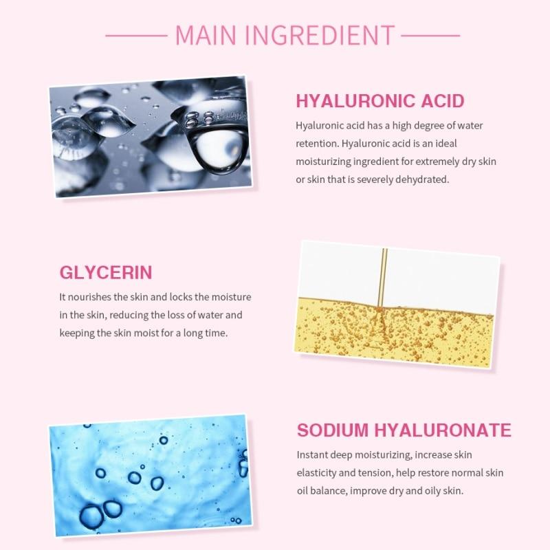 Hyaluronic <font><b>Acid</b></font> <font><b>Peeling</b></font> Smooth Deep Clean Remove