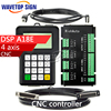 DSP A18 Four Axis Linkage Motion Control System Cnc DSP Cnc Router Machine Control Card Cnc