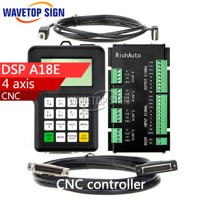 DSP A18 dsp a18E Four-axis Linkage Motion Control System Cnc DSP Cnc Router Machine Control Card Cnc Rourter Mainboard