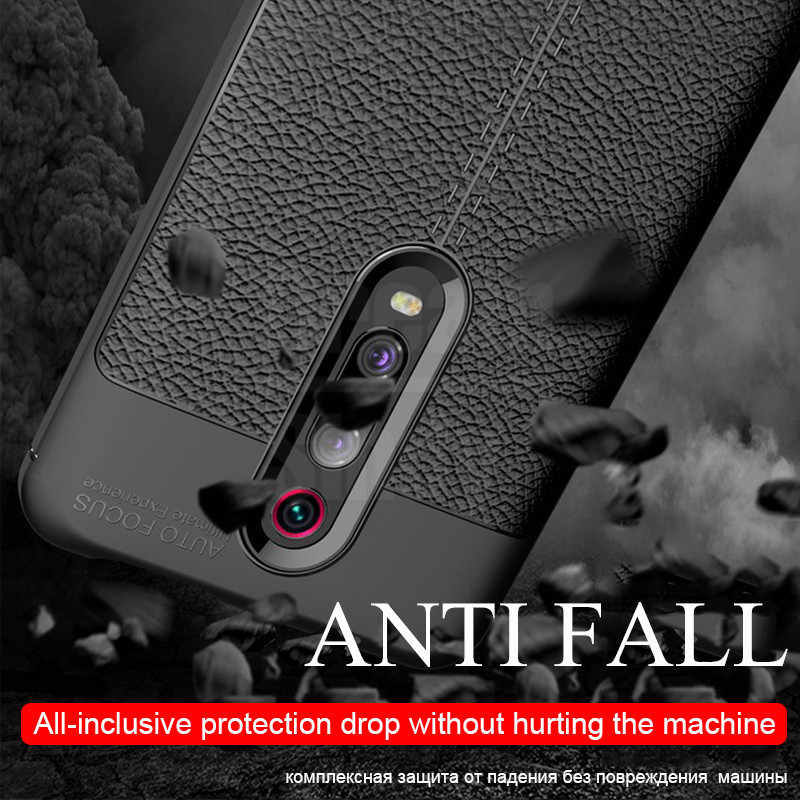 Luxury Ultra Thin Leather Soft Phone Case On The For Xiaomi Redmi K20 7 6 5 Plus Note 4x 5 6 7 Pro Full Cover Shockproof Case