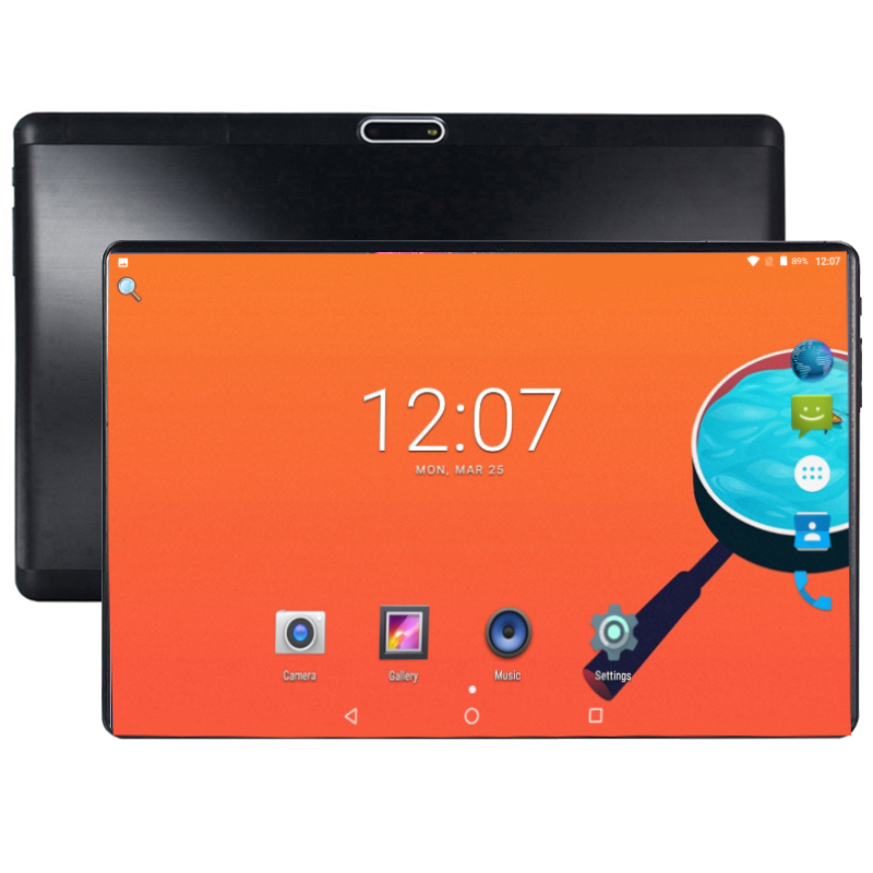 2019 New Release 10 Inch Tablet Octa Core 4GB RAM 64GB ROM 4G FDD LTE Android 8.0 2.5D Glass 6000mAh 1280x800 IPS WIFI GPS Pad