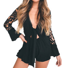 f908e0335e2 (Ship from US) Womail Womens Lace Cocktail Party Pencil Midi Rompers  Jumpsuit bodysuit plus size jumpsuits playsuit C30123