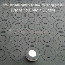100 шт 18650 литиевая батарея с положительным электродом пустая