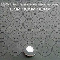 100 Stücke 18650 lithium-batterie positiven elektrode hohl flachkopf isomatte meson 18500 positive oberfläche pad 17*9,0*0,3