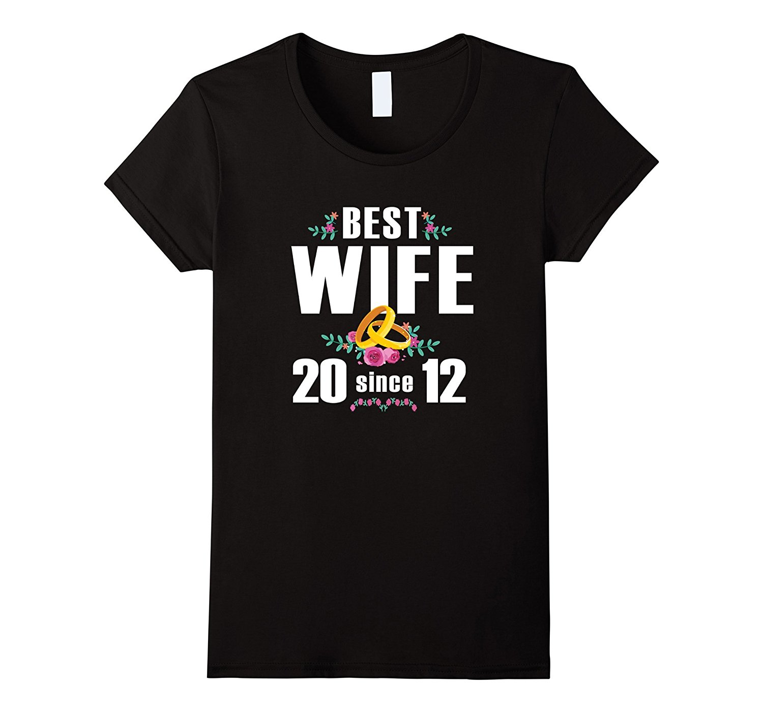 Best Wife Since 2012 T-Shirt 5th Anniversary Gift Shirt Female Harajuk Fashion Drake Fitness Punk Tops Crazy Women T Shirt image