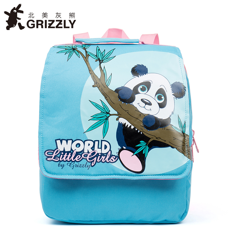 GRIZZLY Children Bags for Boys Kindergarten Nylon Children School Bags Printing Baby Girl School Backpack Cute Children Backpack