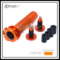 Motorcycle Twister Throttle Tube And Handlebar Ends Cap Plug Grips For KTM EXC XCW SXF XCF EXCF XCFW 250 350 450 SXR EXC 400 530