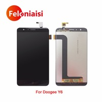 5 5 For Doogee Y6 Y6C Full Lcd Display With Touch Screen Digitizer Panel Assembly Complete