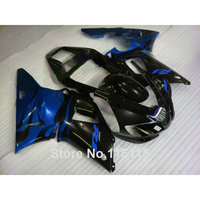 Full injection Lowest price ABS fairings set for YAMAHA R1 1998 1999 model blue black kits YZF R1 98 99 fairing kit 5012